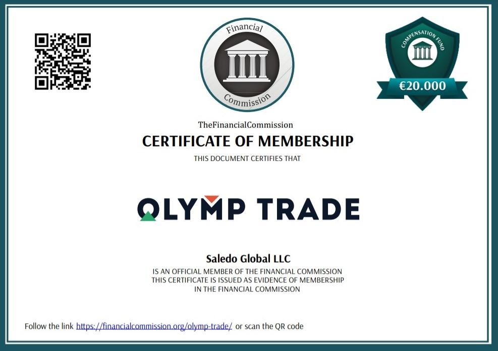 reglamento comercial olymp finacom