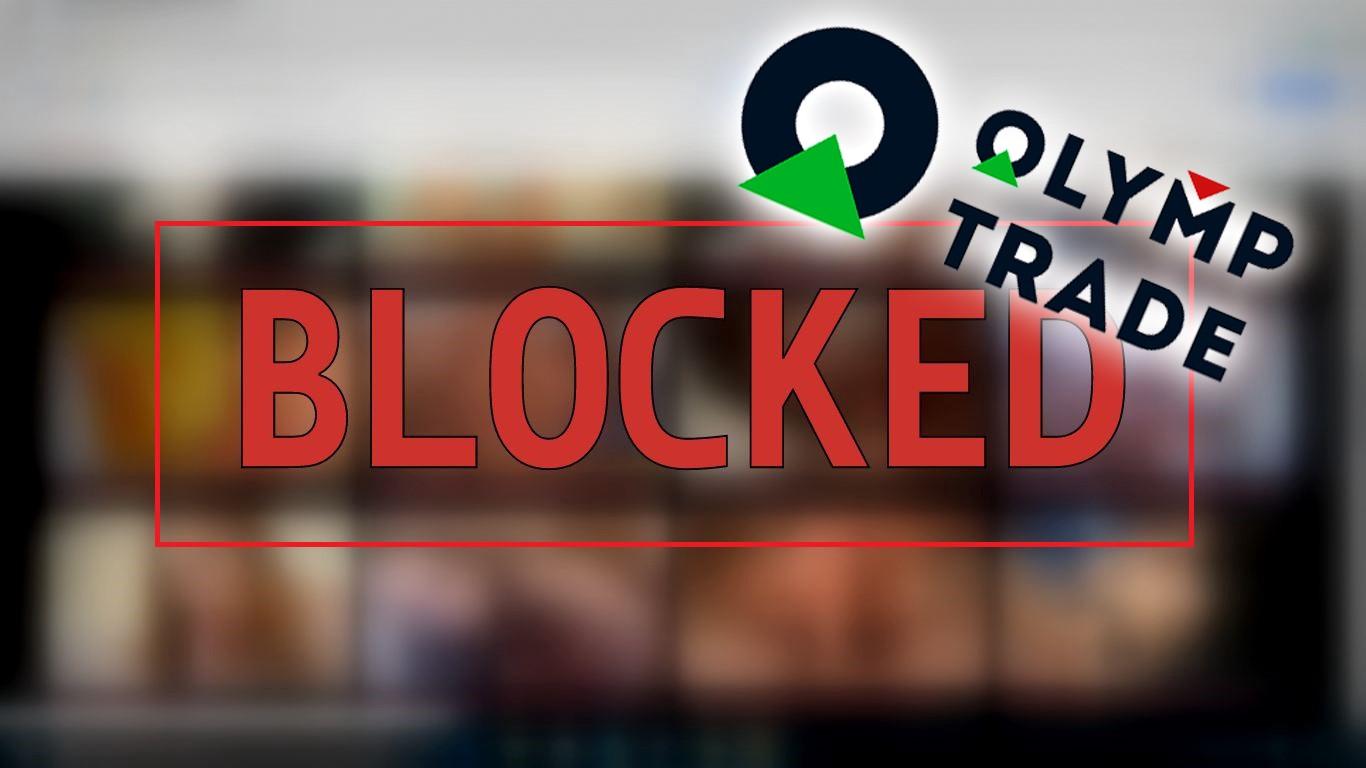 cuenta bloqueada de olymp trade
