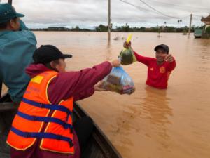 prestándole una mano amiga a Kalimantan del Sur